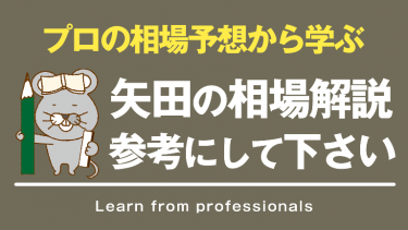 FXの相場解説やトレード日記を見るなら矢田のブログを参考にしてみてください
