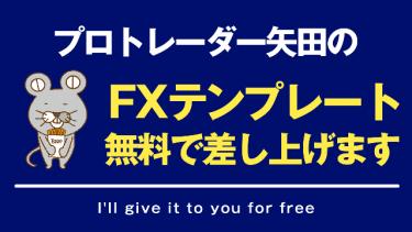 プロトレーダー矢田の利用してる「FXテンプレート」をブログで公開してます